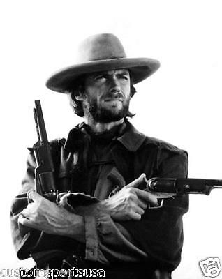 CLINT EASTWOOD Josie Wales Movie Glossy 8 x 10 Photo Guns Poster