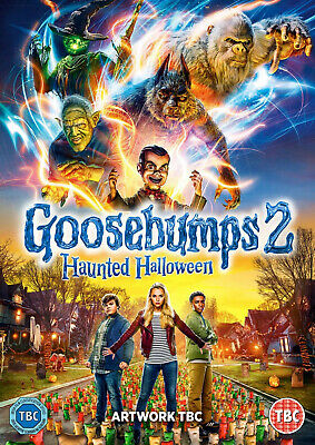 Goosebumps 2 DVD (2019) LIKE NEW NO RESERVE PG TOP TITLE