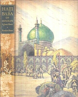 1937 Illustrated Edition Hajji Baba Of Isfahan Iran Persia Color Illustrated Wit