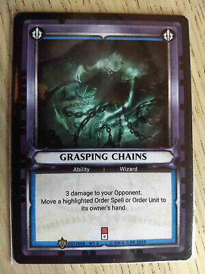 unclaimed WARHAMMER AOS CHAMPIONS Blue Flame