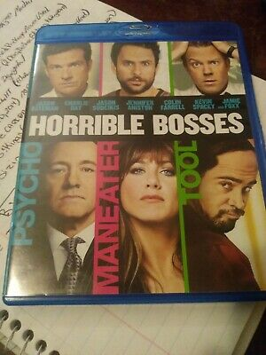 Horrible Bosses(2-Blu-ray set,2011,)Theatrical & Totally Inappropriate versions