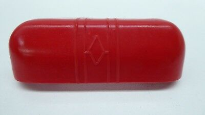 Art Deco Red Bakelite Cabinet Handles Kitchen Dresser Original Vintage Unused