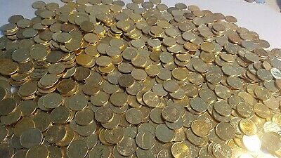 Way over 1,000 Gold Plated State Quarters. Some platinum, colorized also bonus