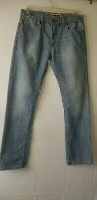Levis mens skinny 511 jeans size waist 34 length 32