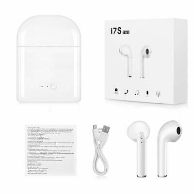 Dual Wireless Bluetooth Earphone Earbuds Clones-Pod iPhone IOS Android
