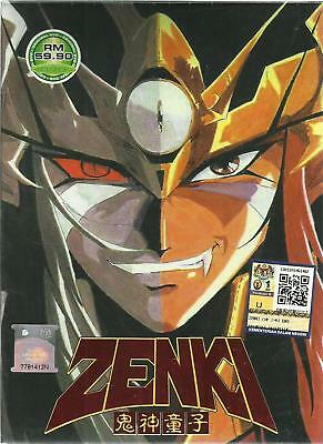 DVD Anime Zenki ( Vol.1-51 End ) English Subtitle + Free Shipping