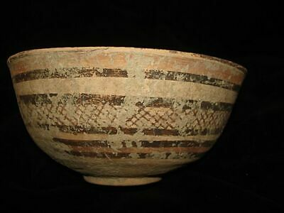 AMAZING!   ANCIENT PAINTED BOWL! FROM EARLY BRONZE AGE! 3000BC~~~no reserve