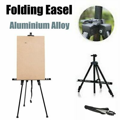 Folding Painting Easel Adjustable Art Artist Tripod Display Stand W/ Carry Bag