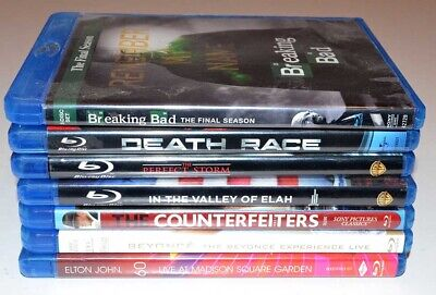 Assorted Lot of 7 - Blu-Ray Disk DVD Movies - Awesome Titles