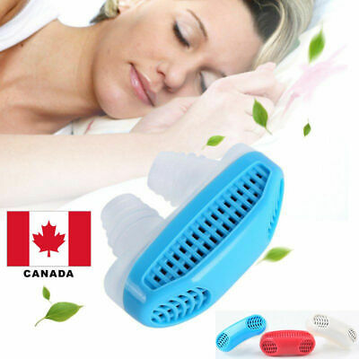 2 in1 Anti Snore Nasal Dilators Apnea Aid Device Stop Snore& Air Purifier Canada
