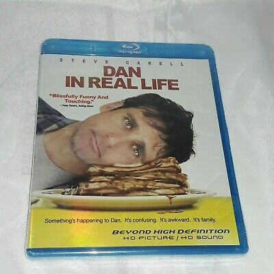 DAN IN REAL LIFE (Blu-Ray, 2008) Region A FOIL COVER ART Brand New SEALED