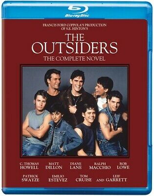 Outsiders [30th Anniversary Complete Novel Edition] (2014, Blu-ray New)