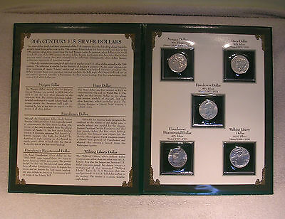 20th Century United States Silver Dollar Coin Commemorative Collection