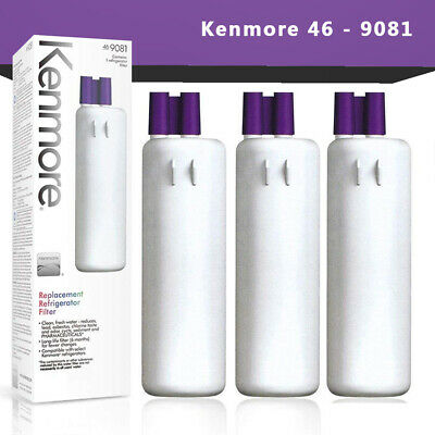 Kenmore 469081 Refrigerator Water Filter 9081 9930 Replacement 3Pack