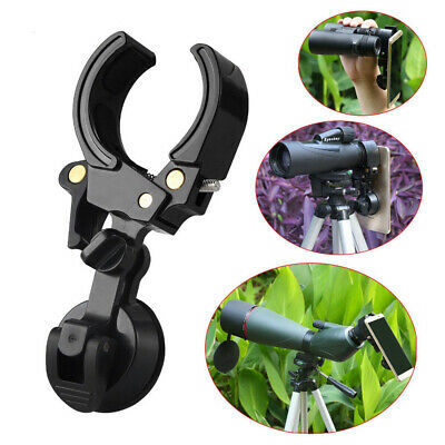 Telescope Spotting Scope Microscope Mount Holder Mobile Phone Camera Adapter