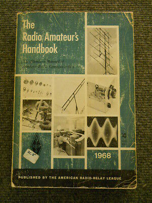 "1968 ARRL Softback ""The Radio Amateur's Handbook"" with catalog section"