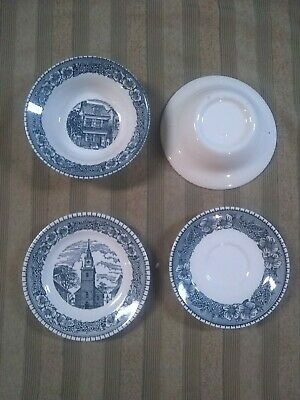 Currier and ives royal china