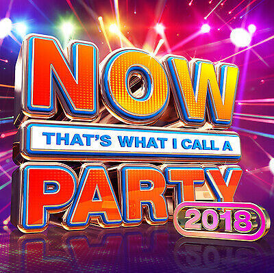 Now That's What I Call a Party 2018 CD NEW