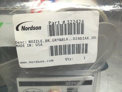 Nordson Nozzle 7.6MM - 322424 New in factory box sealed