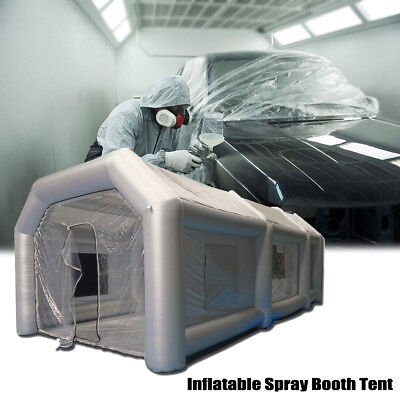 26x13x10Ft Inflatable Spray Booth Custom Tent Car Paint Booth Inflatable Car !