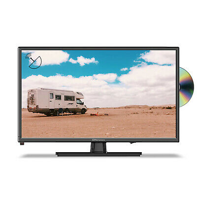 EMtronics 22 Inch Full HD 1080p 12 Volt TV With DVD Player And Satellite Tuner