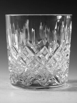 "STUART Crystal - SHAFTESBURY Cut - Tumbler Glass / Glasses - 3 1/2"" (2nd)"