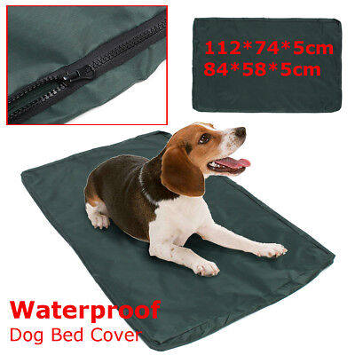 Waterproof Dog Bed Cover Pet Mat Puppy Pad Cat Nest Cushion Washable Green M/L !