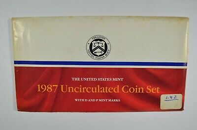 1987 United States Mint P&D Uncirculated Coin Set (b567.8)