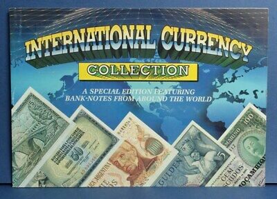 """World Banknotes: """"COLLECTION 15 DIFFERENT IN SPECIAL ALBUM"""" + Descriptive text"""