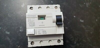 Power Breaker RCD  2 Pole 80A 30mA