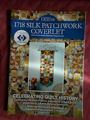 1718 Patchwork Coverlet - Today's Quilter Supplement In Vgc - Wall Hanging