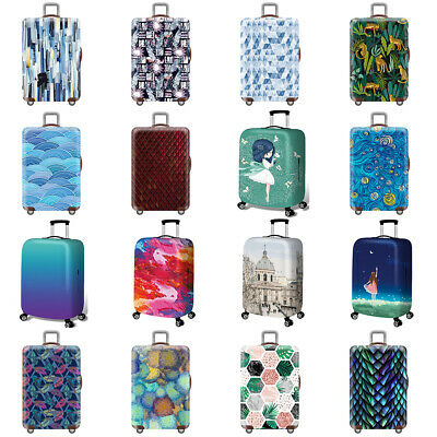 """18"""" - 32"""" Elastic Travel Luggage Cover Suitcase Protective Anti-scratch Dust Bag"""