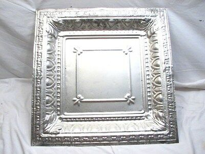 Large Tin Ceiling Tile Art Picture Frame Canvas Deepwell Architectural