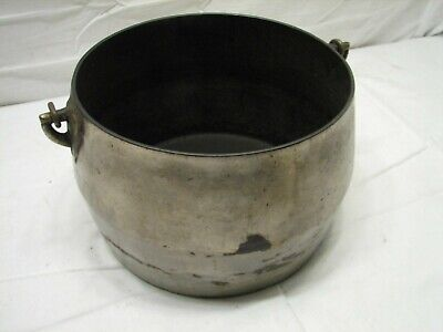 Vintage Marietta Co PA Cast Iron Plated Gypsy Kettle Bean Pot