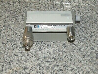HP - AGILENT 8495G DC TO 4 GHz/ 70 dB ATTENUATOR -OPT 001 890