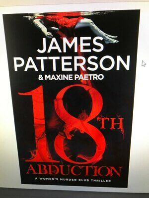18th Abduction (Woman's Murder Club 18) James Patterson New Hardcover Book