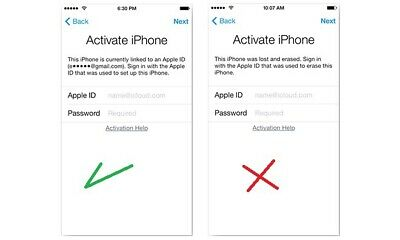 UNLOCK ICLOUD CLEAN MODE REMOVAL SERVICE WORLDWIDE FOR iPhone/ 7 / 7 Plus