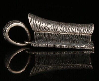 Chinese Silver Handmade Carving Coffin Pendant Gift Collection
