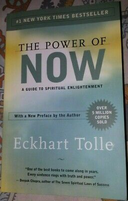 The Power of Now: A Guide to Spiritual Enlightenment, Eckhart Tolle, Like New
