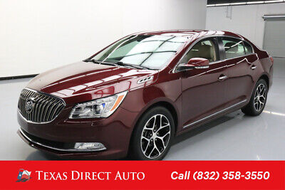 2016 Buick Lacrosse Sport Touring Texas Direct Auto 2016 Sport Touring Used 3.6L V6 24V Automatic FWD Sedan OnStar