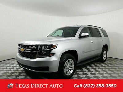 2017 Chevrolet Tahoe LT Texas Direct Auto 2017 LT Used 5.3L V8 16V Automatic 4WD SUV Bose OnStar