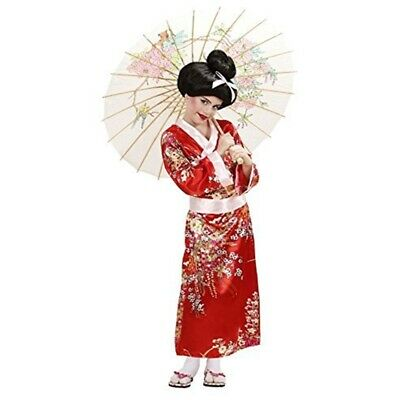Children's Geisha Costume Small 5-7 Yrs (128cm) For Oriental Chinese Fancy