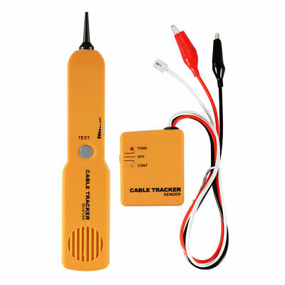 RJ11 Wire Tone Generator Probe Tracer Network Tracker Line Finder Cable US D1P2G