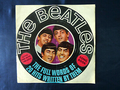 The Beatles - Song Book From 1964 Fabulous Magazine Lyrics Songbook