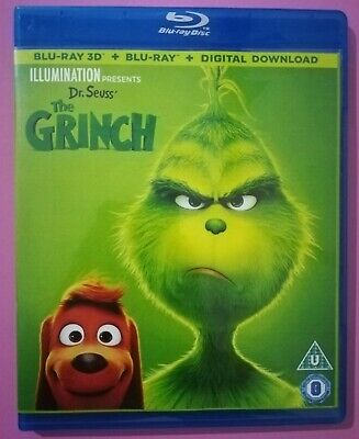 The Grinch 3D BLU RAY