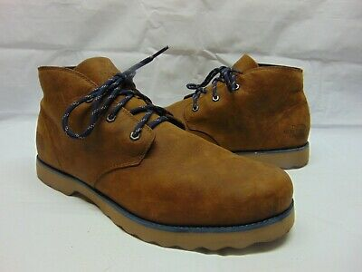 017797cfc THE NORTH FACE Ballard Chukka ll men's 13 D tan leather ankle boots shoes  $300