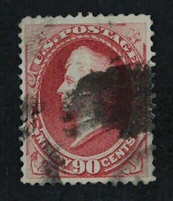 CKStamps: US Stamps Collection Scott#166 90c Perry Used Sealed Tear