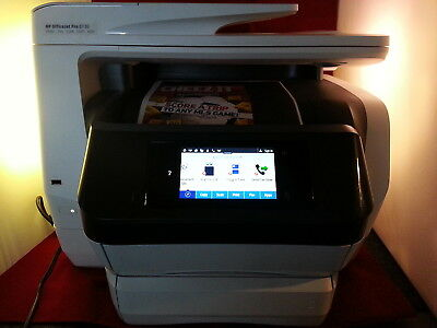 HP Officejet Pro 8730 D9L20A Wireless All-In-One Color Printer with Duplex Print