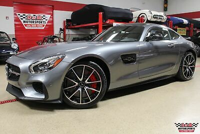 2016 AMG GT S Edition 1 Edition 1 Pkg, Lane Tracking Pkg, AMG Black Diamond Trim and 3,353 Miles!