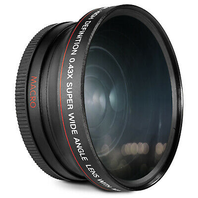 72MM Altura Photo® HD Wide Angle Macro Lens for Canon EOS Rebel T6i T5i T4i T3i